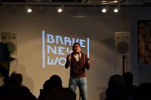 Brave New Words - poetry slam September 18th 2015