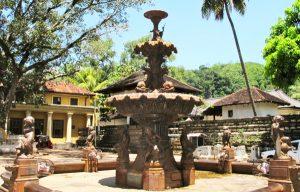 Prince of Wales Fountain in Kandy, Sri Lanka