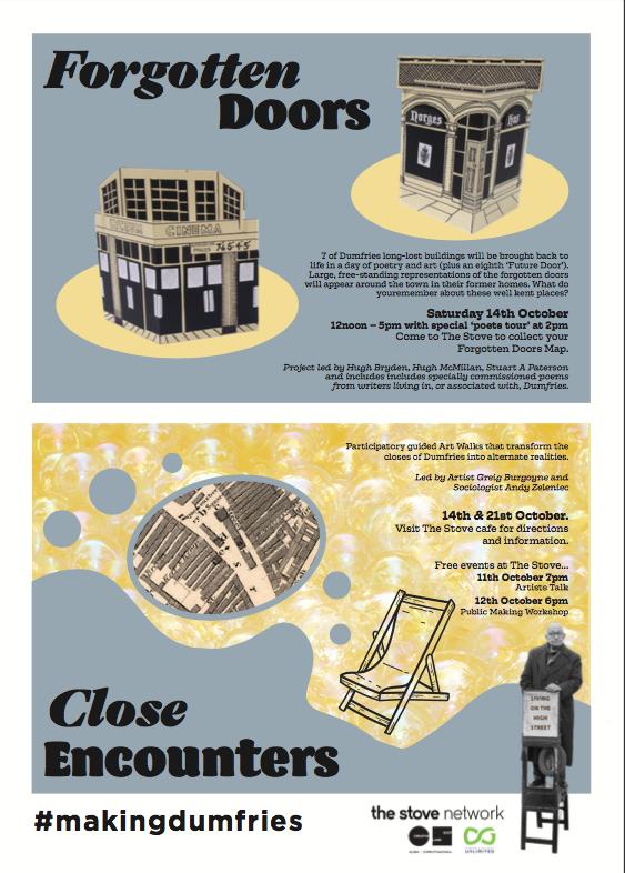 Close Encounters/ Forgotten Doors poster