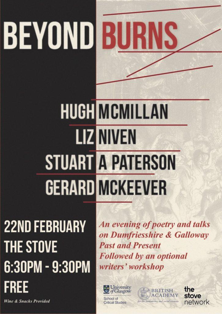 Beyond Burns 22nd Feb